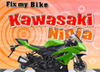 Сглобете мотора Fix My Bike Kawasaki Ninja