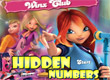 Уинкс Клуб Скрити числа Winx Club Hidden Numbers