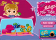 Брац аквариум за рибки Bratz Babyz Fish Tanks