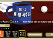 Офис мини голф office mini golf
