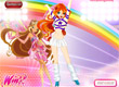 Облечете Блум от Уинкс като мажоретка Winx cheerleaders dress up